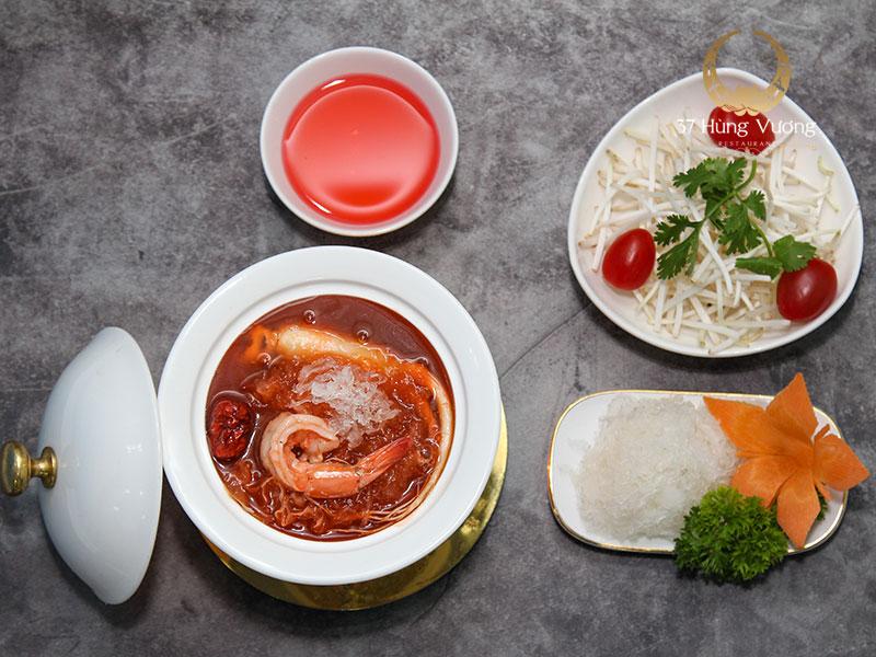 Soup Yen tiem hong sam