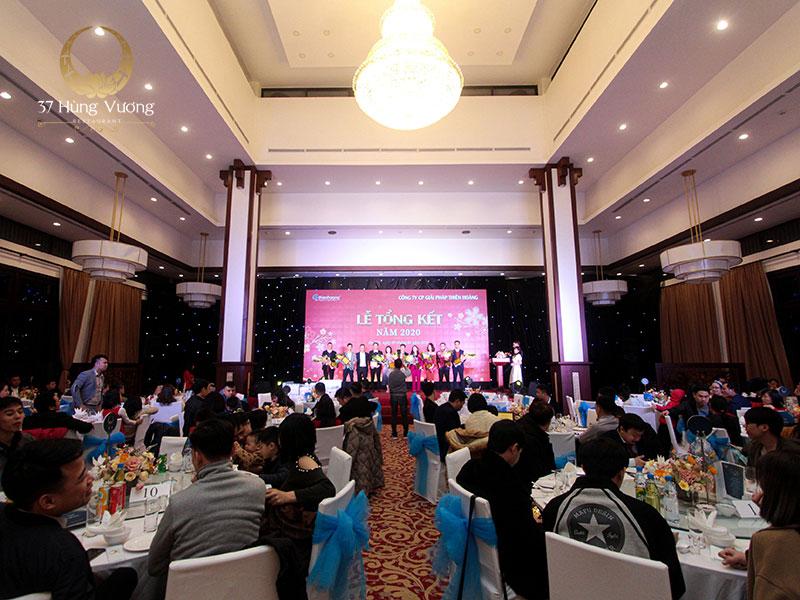 Không gian tổ chức tiệc tại nhà hàng NCC - Trung tâm hội nghị Quốc gia