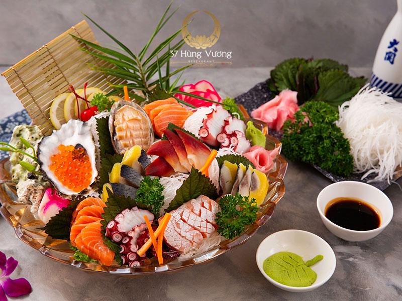 Bữa tiệc đẳng cấp với thực đơn đặt tiệc tại Nhà hàng 37A Hùng Vương
