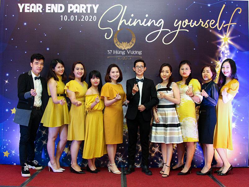 Cách thức tổ chức tiệc cuối năm cho công ty