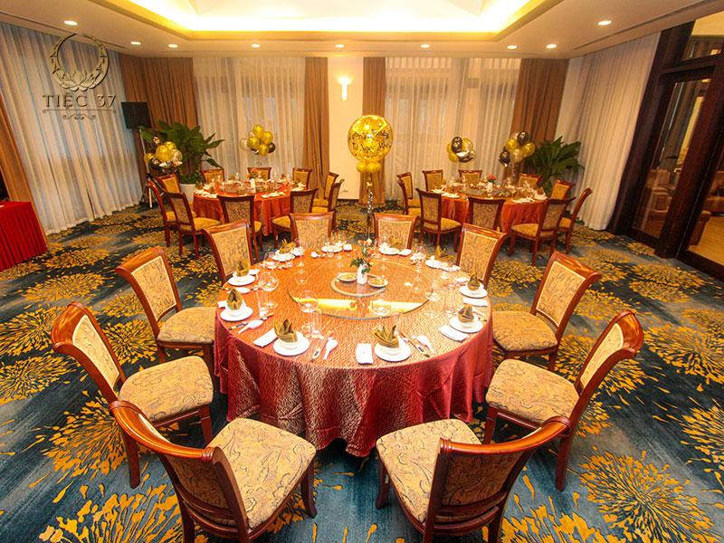 Không gian phòng tiệc VIP sang trọng tại nhà hàng NCC