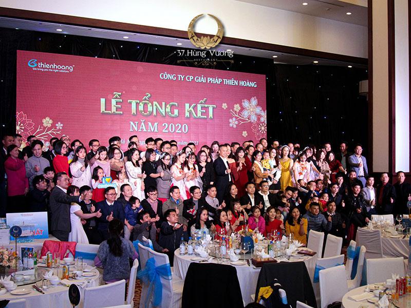 Địa điểm tổ chức tiệc liên hoan tổng kết cuối năm cho công ty tại Hà Nội