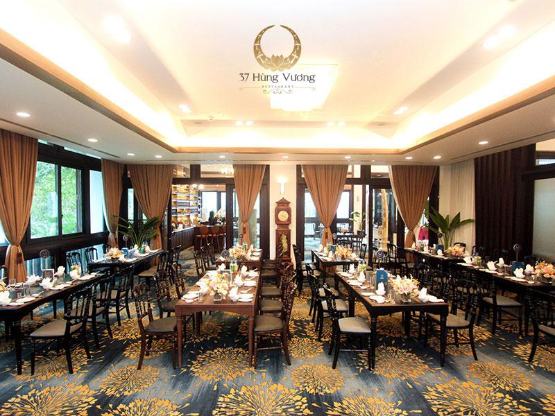 Phòng VIP tổ chức tiệc tại nhà hàng NCC - Trung tâm hội nghị Quốc gia