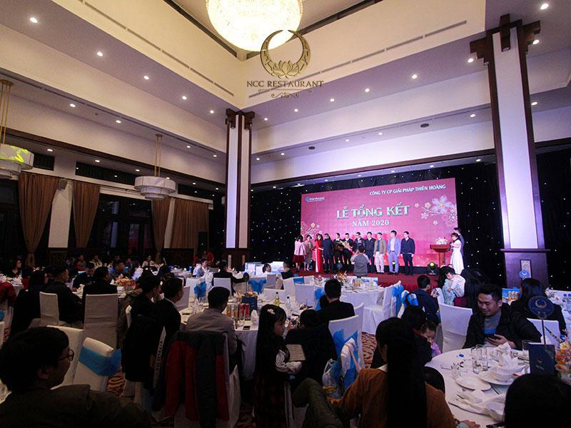 Các loại hình tổ chức gala dinner phổ biến