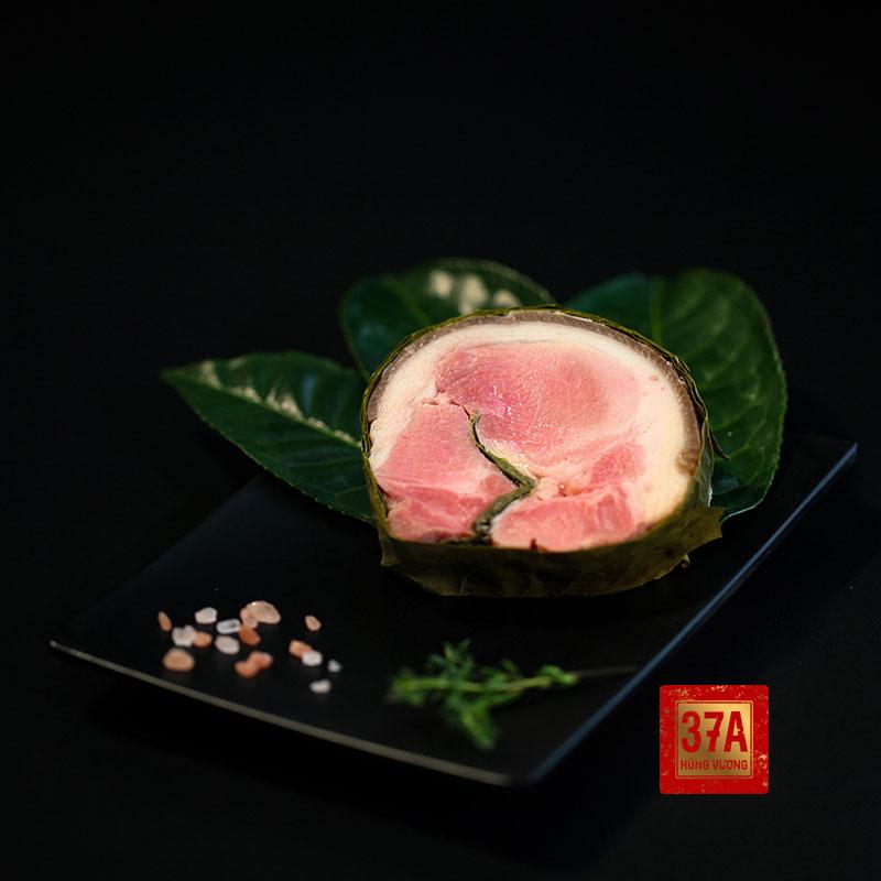 Thịt lợn đen trà xanh