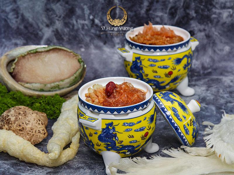 Soup Vi cá Bào ngư 37 Đệ nhất - Món ngon đặt tiệc tại nhà hàng