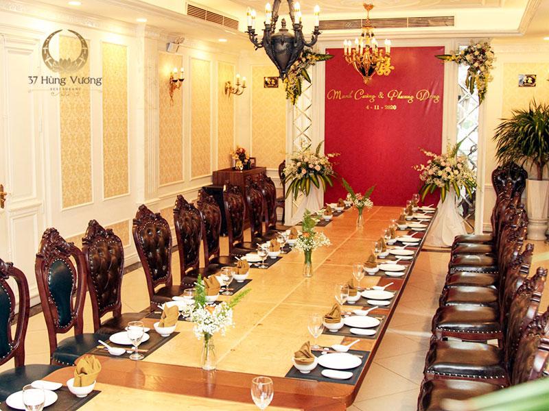 37A Hùng Vương - Nhà hàng tổ chức tiệc báo hỷ tại Hà Nội