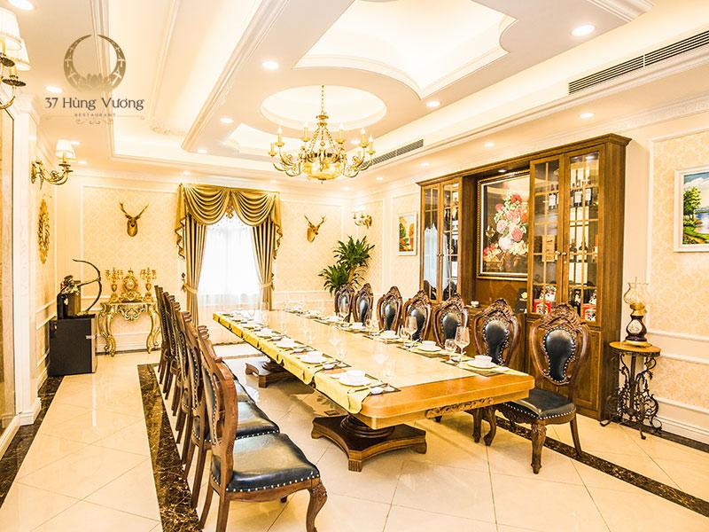 Nhà hàng tổ chức tiệc tất niên sang trọng và đẳng cấp tại Hà Nội