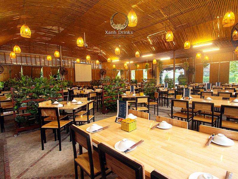 Nhà hàng Xanh Drinks – Địa điểm đặt tiệc lý tưởng