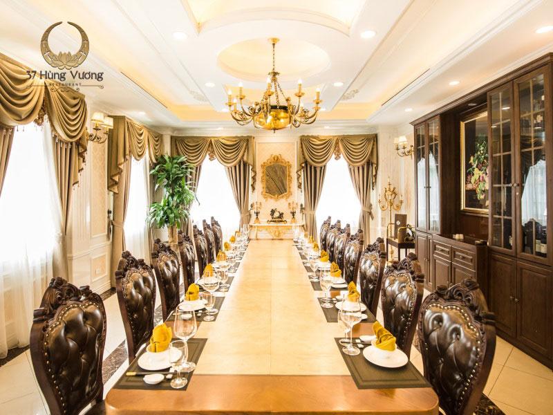 Nhà hàng 37A Hùng Vương - Địa điểm phù hợp tổ chức tiệc họp lớp