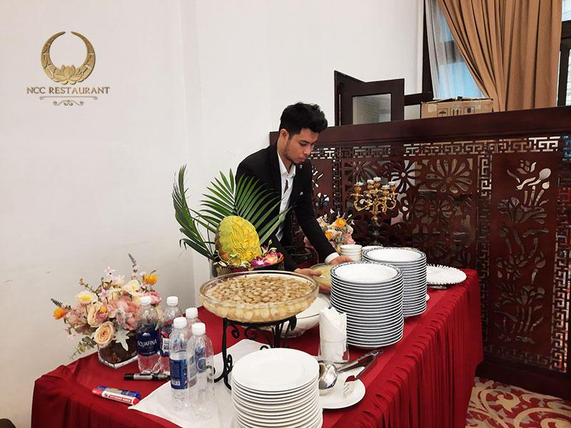 Tổ chức tiệc buffet nhà hàng