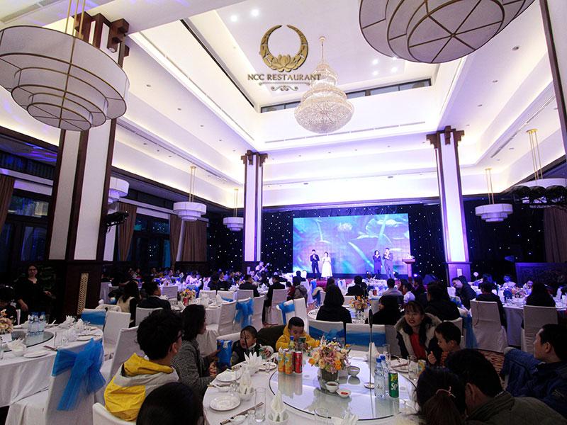 Địa điểm tổ chức tiệc cuối năm cho công ty