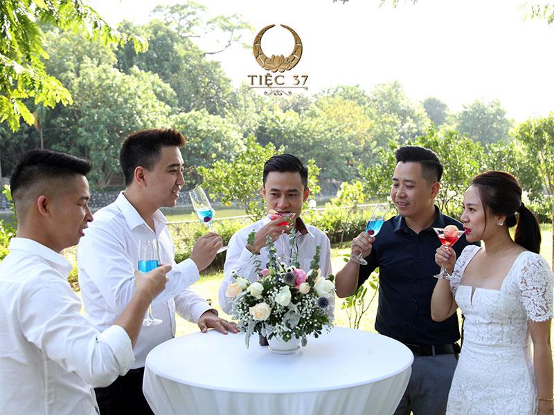 Tạo cảm giác mới lạ cho chủ tiệc và cả khách mời tham dự