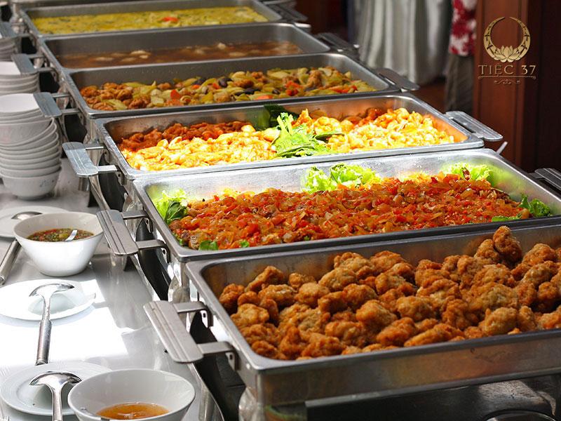 Đặt tiệc buffet - Trải nghiệm tiệc hoàn hảo mùa đặt tiệc cuối năm