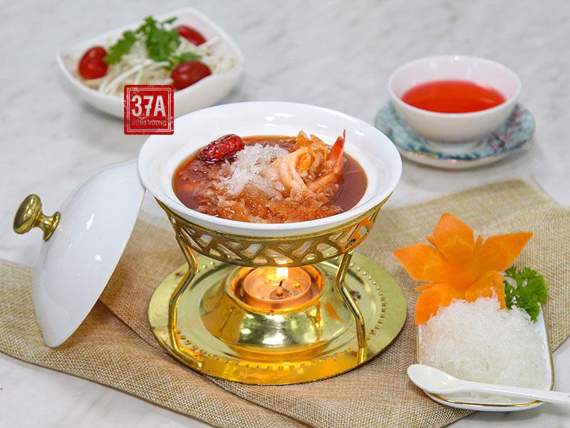 Soup yến 37 bạch tuyết