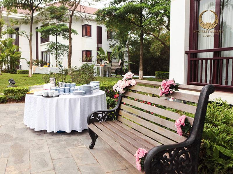 Trải nghiệm không gian sống xanh tại khu Biệt thự - Trung tâm hội nghị Quốc gia