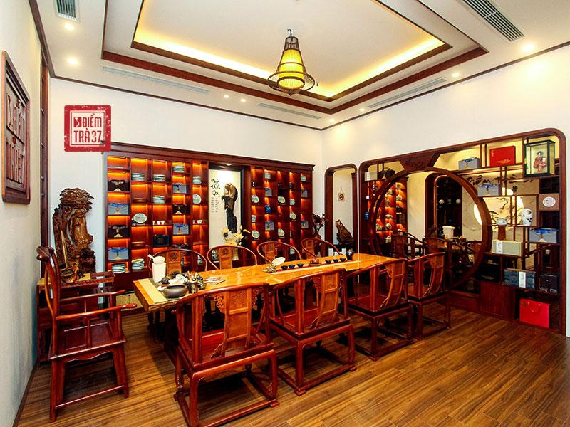 Không gian văn hóa trà Việt - Điểm trà 37