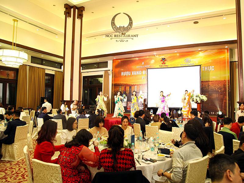 Những sự kiện tổ chức tại Nhà hàng NCC