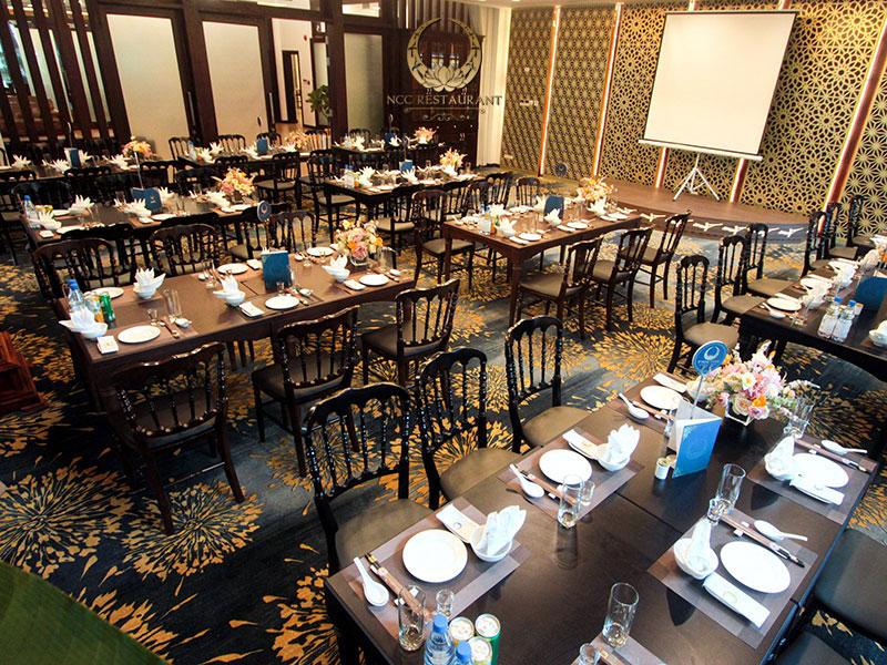 Phòng VIP sang trọng tại nhà hàng NCC
