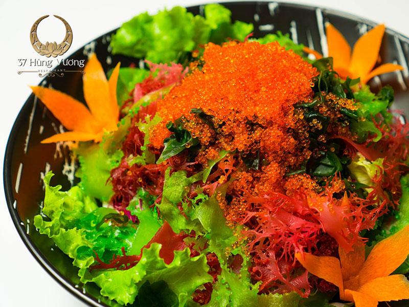 Salad rong biển trứng cua Nhật