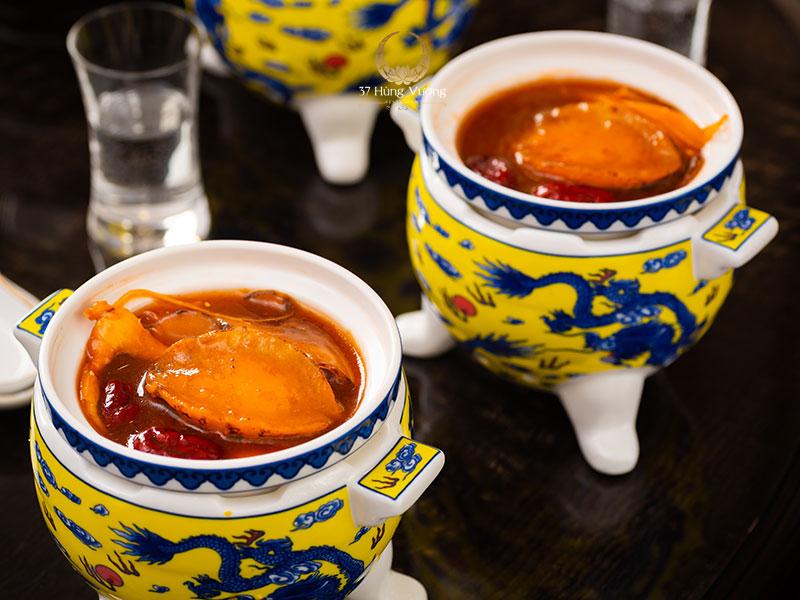 Soup Bào ngư