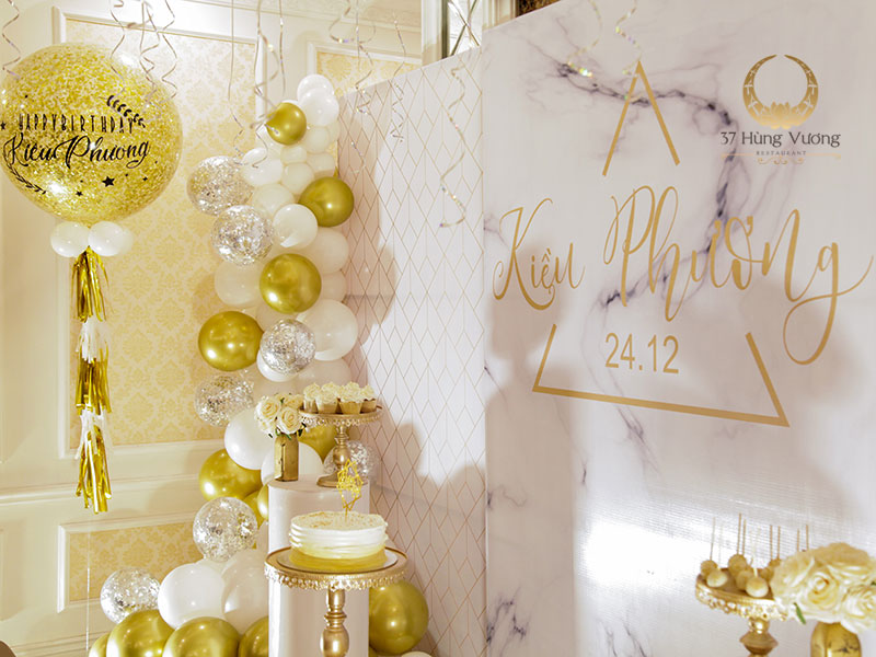 Trang trí không gian tiệc sinh nhật phù hợp với từng đối tượng
