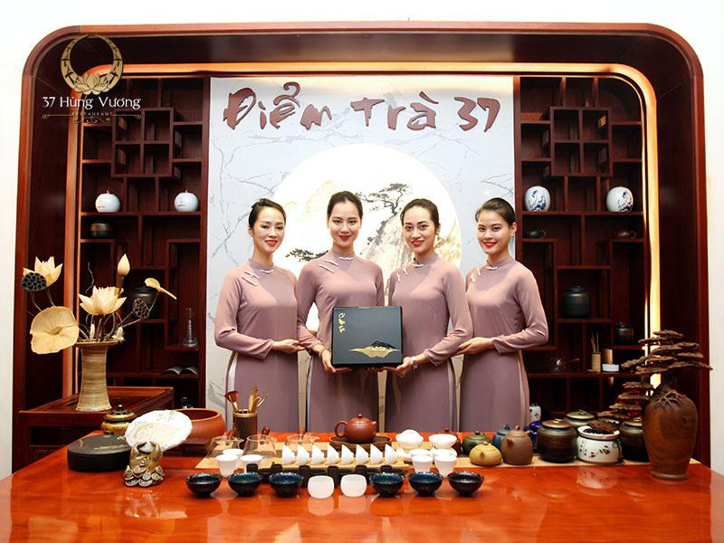Điểm trà 37 - Không gian văn hóa trà Việt