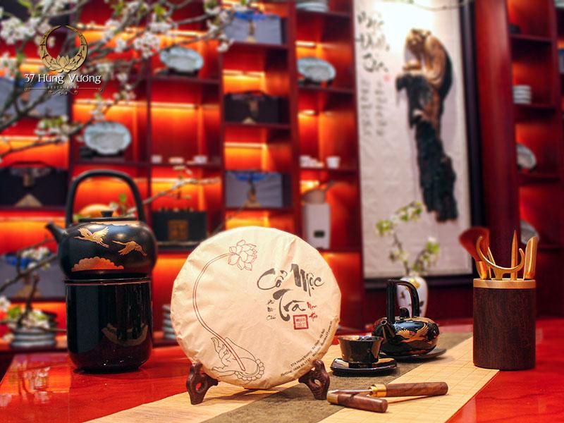 Phẩm Cổ Mộc Trà - Trà Phổ Nhĩ chín tại Không gian văn hóa trà Việt - Điểm trà 37