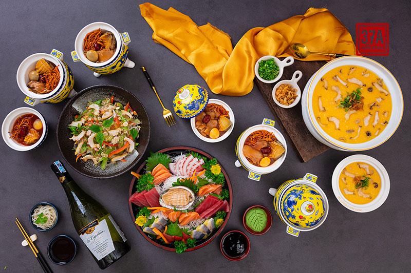Set bào ngư Hàn Quốc - Set món ngon ship tận nhà chuẩn vị nhà hàng