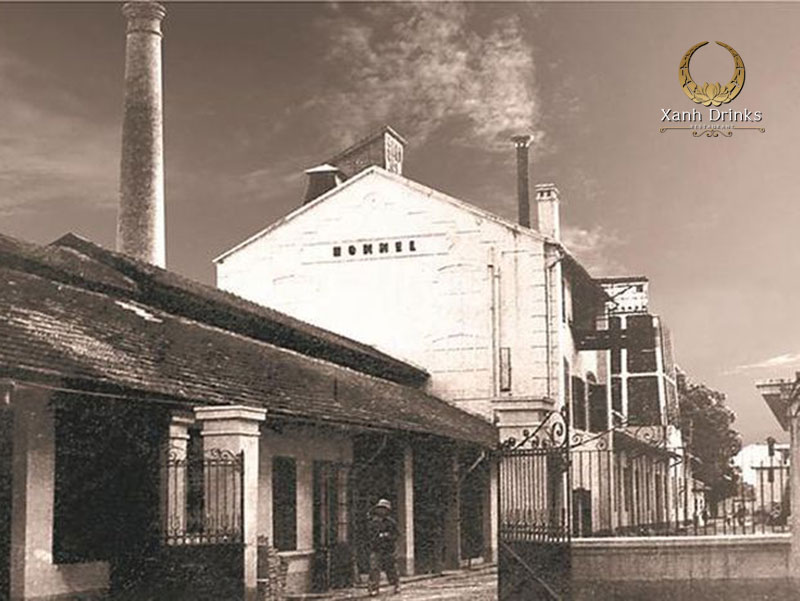 Nhà máy bia Hommel trước đây