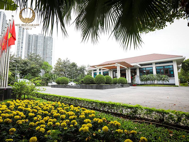 Nhà hàng NCC - Không gian xanh giữa thủ đô Hà Nội