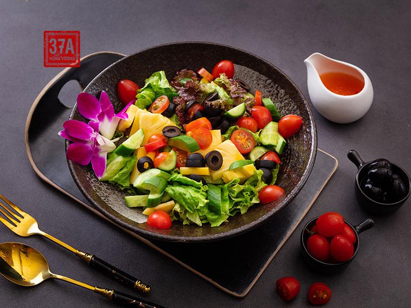 Salad rau xanh tổng hợp