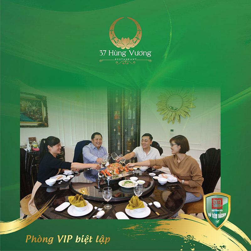 Trải nghiệm tiệc tại không gian phòng VIP biệt lập