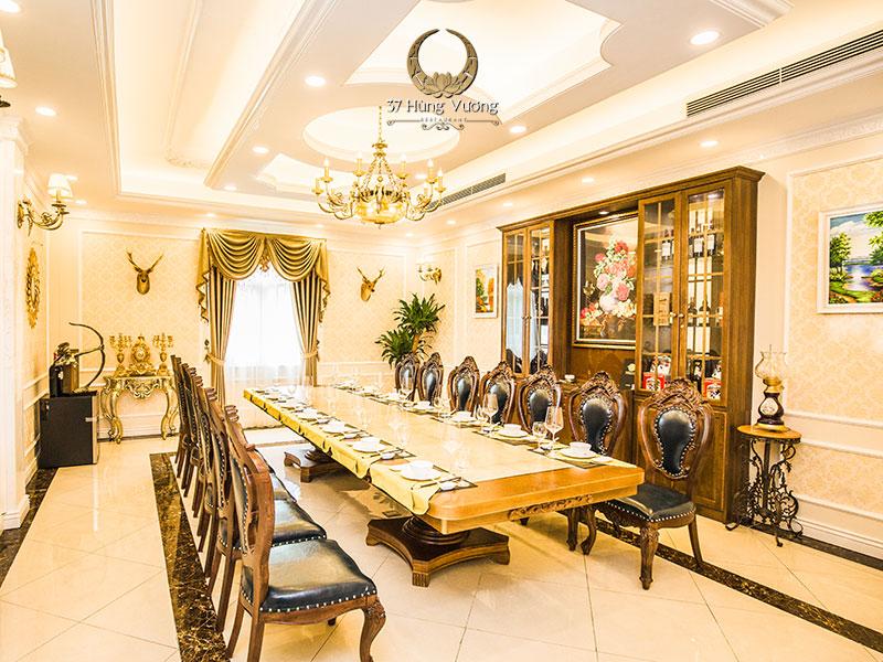 Hệ thống phòng tiệc VIP sang trọng bậc nhất Hà Thành
